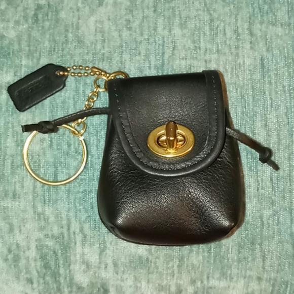 Rare Coach Vintage Daypack mini Keychain